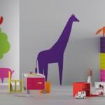 Habitaciones infantiles con mobiliario de diseño