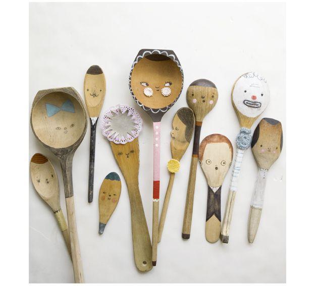 Cosas para ni os con estilo 10 sonambulistas - Decorar madera con pintura ...
