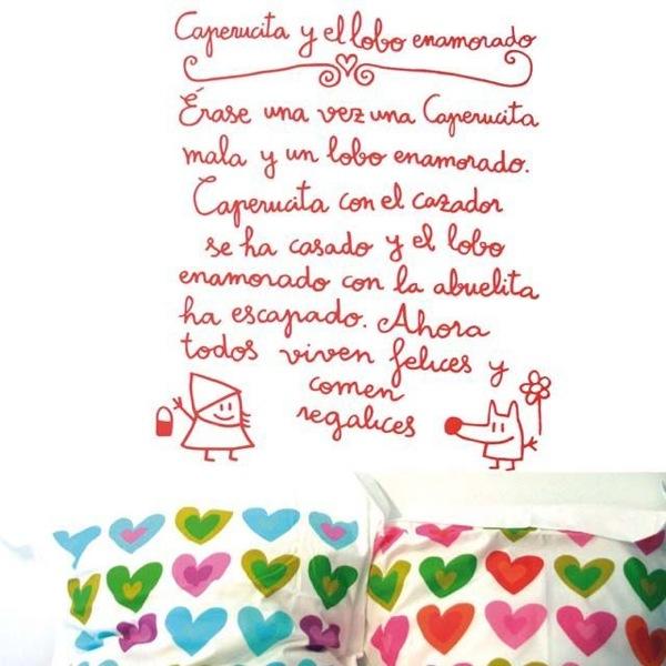 Paredes decoradas archivos sonambulistas - Vinilos infantiles originales ...
