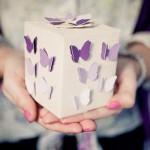 Día de la Madre: cajita decorada con mariposas