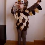 Disfraces caseros: el búho de Bambi