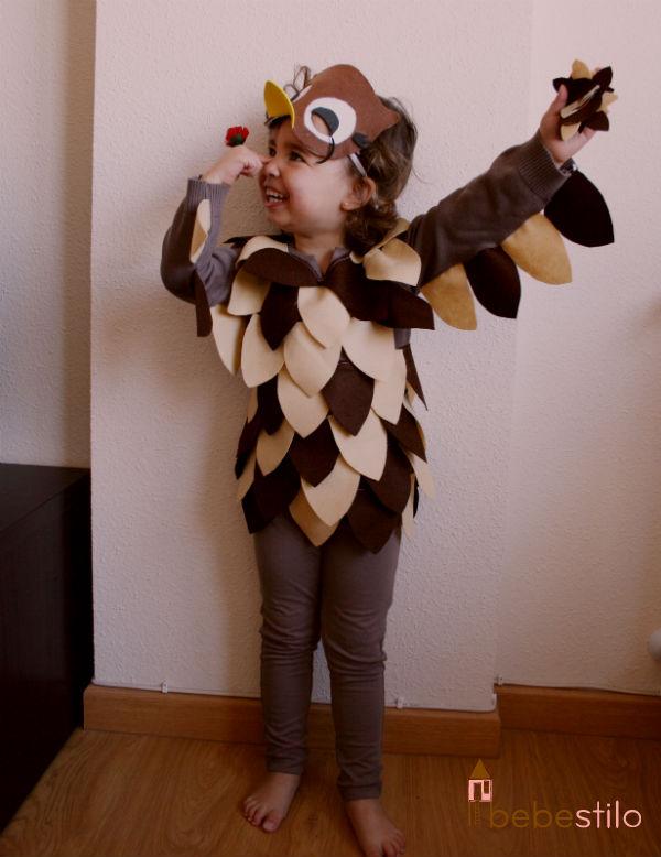 Disfraces caseros: el búho de Bambi - Sonambulistas
