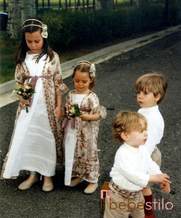 Vestidos niños de arras - Sonambulistas