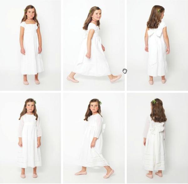 claro y distintivo 100% Calidad ahorros fantásticos Primera Comunión: vestidos de Nícoli - Sonambulistas