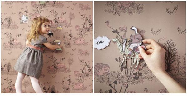 papel pintado magnético de sian zeng