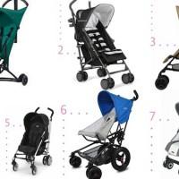 [Stiloimprescindibles] 7 sillas de paseo ligeras