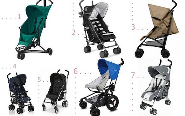 Stiloimprescindibles 7 sillas de paseo ligeras for Sillas de paseo ligeras