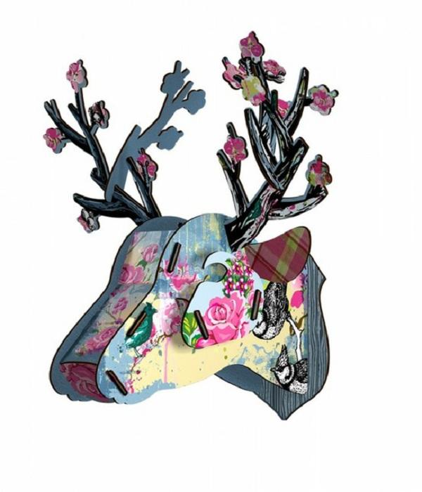 Cosas con estilo 25 sonambulistas - Cabeza de ciervo decoracion ...