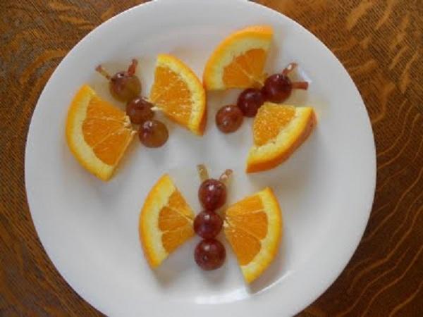 Fruta Divertida Para Ninos Sonambulistas - Manualidades-con-frutas-para-nios