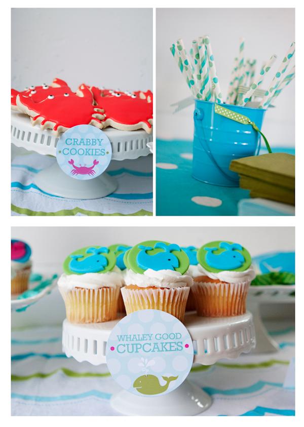 Baño Para Torta Infantil:ideas de cumpleaños_dia de playa