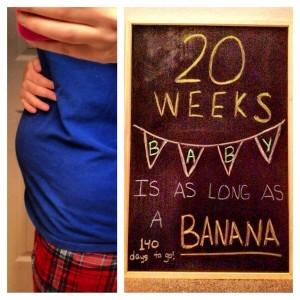 Diario de una embarazada: 20 semanas