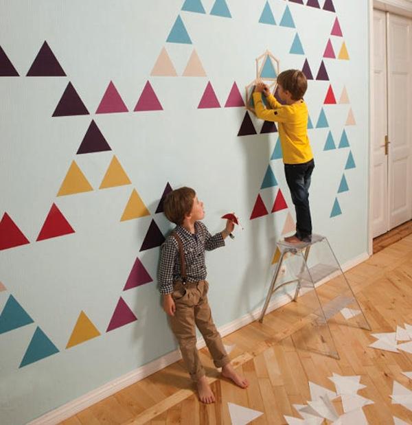 Paredes decoradas archivos sonambulistas for Decoracion paredes habitacion