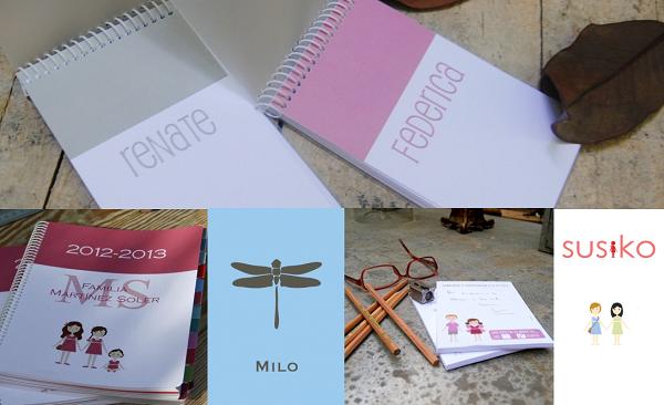 vuelta al cole cuadernos y agendas escolares