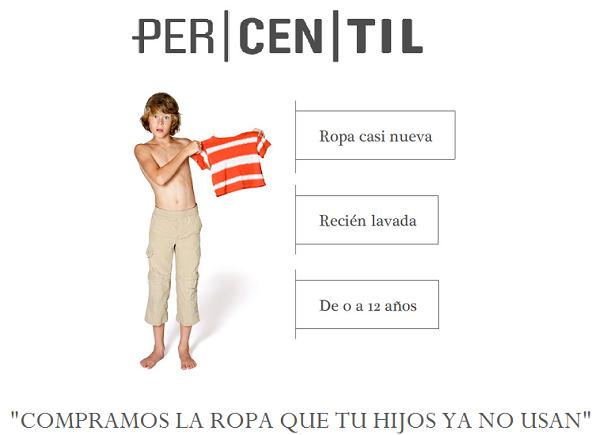 ropa casi nueva_percentil