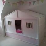 Cama casita made in IKEA