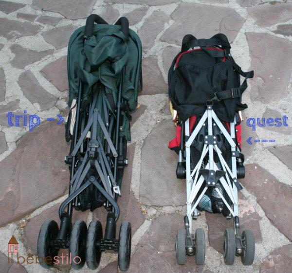 Sillita de paseo maclaren vs inglesina sonambulistas for Modelos silla maclaren