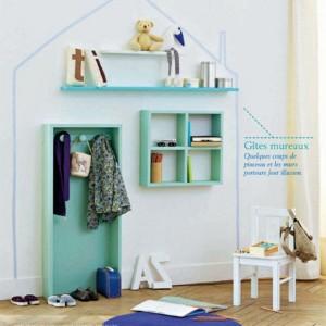 Inspiración: una casita que no ocupa espacio