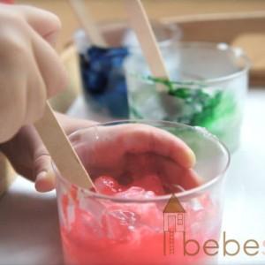 Pintura de dedos casera