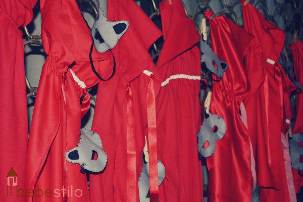 cumpleaños caperucita roja_capas y  mascaras