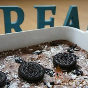 Recetas para niños nº 17: Brownie de galletas Oreo