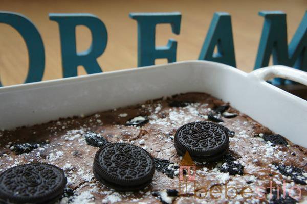 brownie galletas oreo recetas para niños