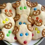 Cocinar con niños: renos de galleta