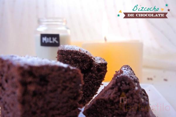 receta Bizcocho de chocolate Chocolate cake