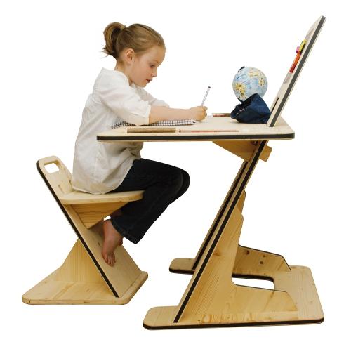 pizarra y escritorio en uno