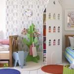 Habitaciones infantiles: un cuarto para gemelos