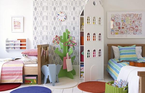habitaciones infantiles un cuarto para gemelos
