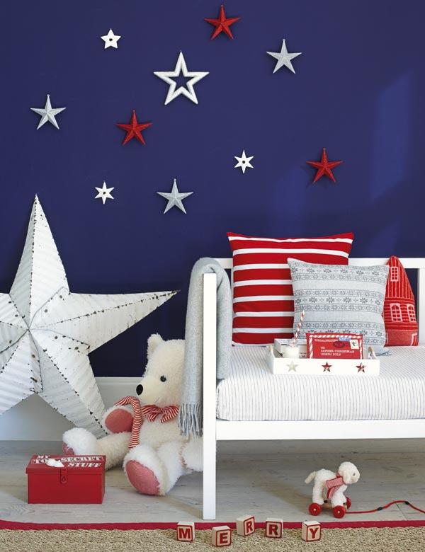 Habitaciones infantiles twinkle twinkle little star - Paredes pintadas con dibujos ...