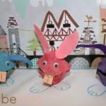 Manualidades con niños: conejos de pascua