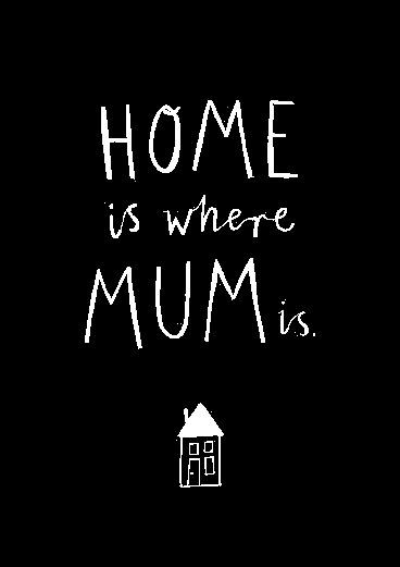 mi casa esta donde este mi madre