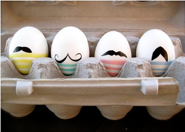huevos pascua manualidades con niños