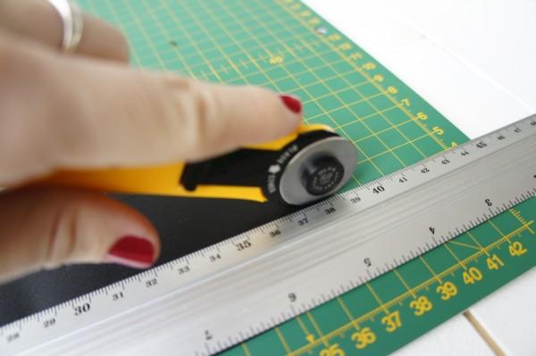DIY homemade chalk washi tape / washi tape casero de pizarra