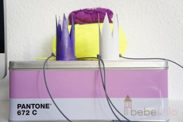 DIY corona carton juguete con papel higienico DIY paper toilet roll crown