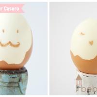 Cómo hacer un Huevo Kinder Casero