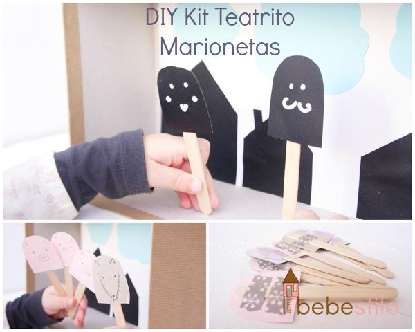 Kit Teatro de Marionetas