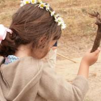 Coronas de margaritas para el pelo