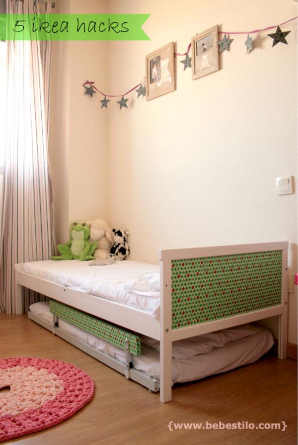 DIY cama nido ikeahack