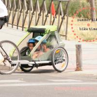 Planes con niños: tardes de paseos en bici