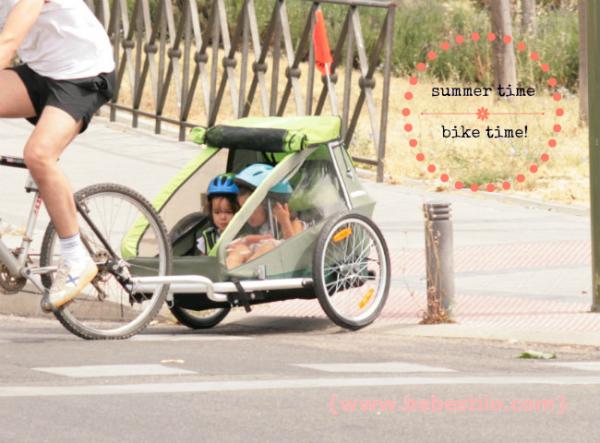 paseos en bici con niños