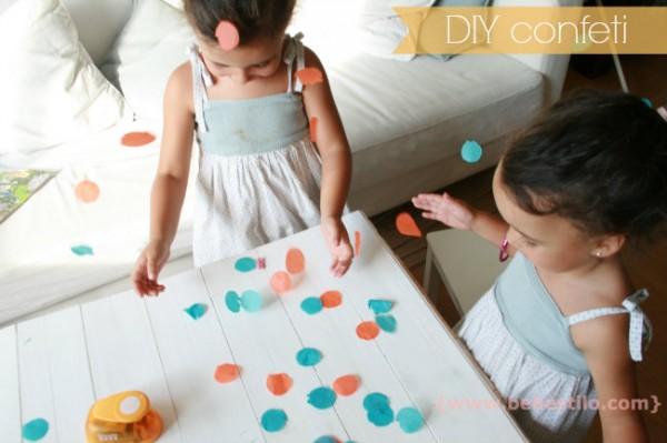 DIY confeti