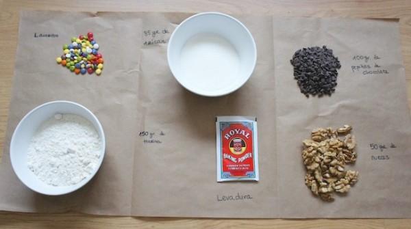 kit galletas de colores
