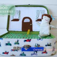 Maleta casita de muñecas