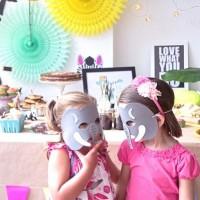 Una animalada de fiesta (I) o cómo decorar una fiesta infantil sin morir en el intento