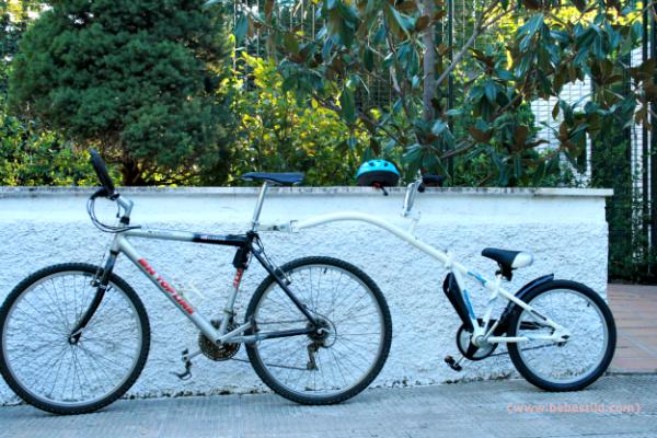 bici para niños copilot