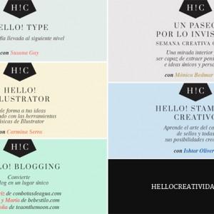 Habemus nuevos cursos online en Hello! Creatividad
