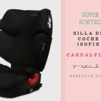 SORTEO: silla de coche Grupo 2-3 de CASUALPLAY