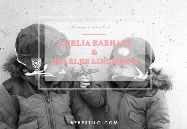 AMELIA EARHART-CHARLES-LINDBERGH